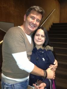 con Mitch Sebastian Director de Musicales en Londres