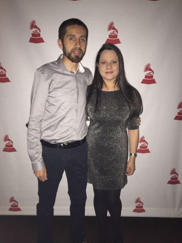 Cena de productores en el Latin Grammy :)