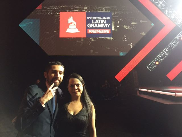 Ceremonia de los Latin grammy !!